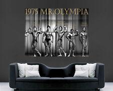 Arnold Schwarzenegger cartel culturista Gimnasio Fitness 1975 el Sr. Olympia impresión