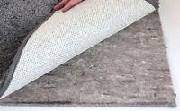 """Felt Rug Pad 7/16"""" Thick for Area Rug on Hardwood Floors Custom Sizes 40 oz Pad"""