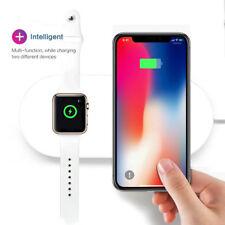 Qi Wireless Fast Charger Stand Halter für Apple Watch 4 für iPhone XS / XS MAX