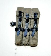 1/6 SCALE DRAGON GERMAN WWII - POUCHE AMMO MP40 (FABRIC - TELA)