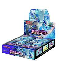 Pokemon Card Game SM8 Sun & Moon Booster Pack Blue Impact Box w/ Tracking NEW