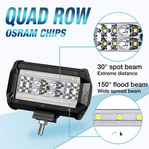 10 to 32V DC High Transmittance Lens Work Light for Trucks Tractors Off-road 4x4