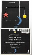CHRIS REA wired to the moon CD ALBUM magnet