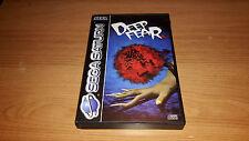 Deep Fear-Sega Saturn Spiel-PAL-boxed mit Anleitung-SELTEN Horror