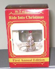 Vintage 1983 Hummel Goebel 1st Annual Glass Ornament Original Box
