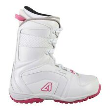 Avalanche Eclipse Womens Snowboard Boots - 9 - White/Pink - NEW