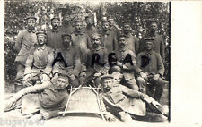 Imperial German group serving with Landwehr Infantry Regiment No 57 Russia 1916
