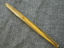 VINTAGE PARKER 75 GOLD PLATED PEN EXCELLENT RARE KF NIB