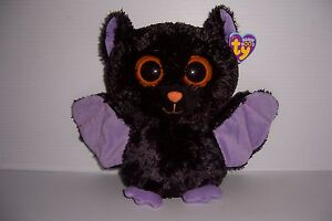 "TY BEANIE BOO BOOS SWOOPS THE BAT 8"" NEW WITH TAG!"