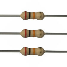 100 x 20k Ohm Carbon Film Resistors - 1/4 Watt - 5% - 20K - Fast USA Shipping