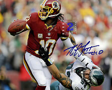 "Robert Griffin III NFL Washington Redskins 10x8"" Signed Color PHOTO REPRINT LOOK"
