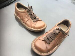Dr Martens Mel brown leather shoes UK 3 EU 36