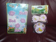 TINKERBELL CUPCAKE LINERS &TOPPERS & ICING DECORATIONS