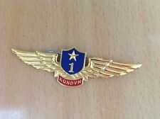 Vietnam army pin badge Military pilot 1st - Flew over 900 hours