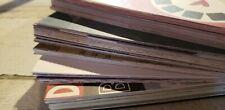 50 Mixed Lot of 3.5x5.5 Scrapbook Paper & Cardstock - Great Card Making & Mats