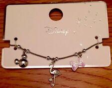 Primark Disney Mickey Mouse Minnie Mouse Charm Bracelet BNWT Flamingo Bow Malibu
