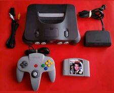 Nintendo 64 Console + GoldenEye 007 + Official Controller