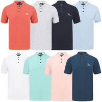 Tokyo Laundry Men's Pique Cotton Polo Shirt T-Shirt Casual Top Stretch Fit New