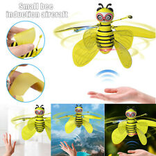 Mini Flying Ball Bee Toys,Rc Infrared Induction Drone Helicopter With Shinning