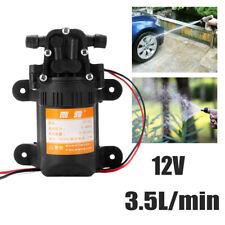 Diaphragm Pressure Water Pump 12V 3.5L / min High Pressure Micro Car 0.48MPa