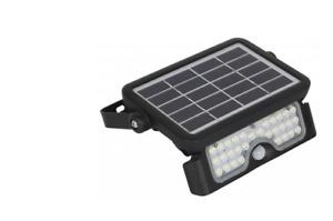 Faro faretto da esterno 5w con pannello solare integrato KOBI MHC luce lampada