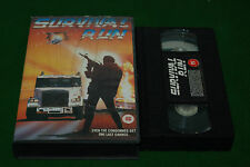SURVIVAL RUN    vhs biker movie rare PRE CERT VIDEO