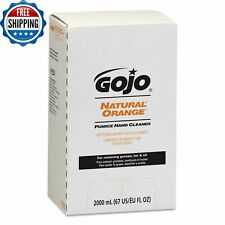 Natural Orange Pumice Hand Cleaner Wash Lotion Scrubber Quick Refill 2000ml Gojo