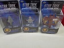 Wizkids Star Trek Attack Wing Lot Independent Fina Prime Val Jean Dauntless Mip