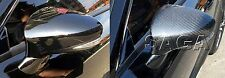 Fits Lexus RC200t 300h 350 F 2014~ON Real CARBON FIBERMirror Cover RHD Overlay