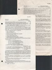 War Department - Vintage May 1944 US Govt Circular Booklets Lot (2) WWII