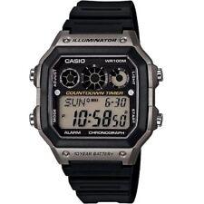 Casio Resin Band Digital Wristwatches