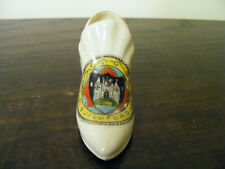 """Guildford  Crested  Ware China  Miniature  Shoe  Model  Length 3""""  Height 1.3/4"""""""
