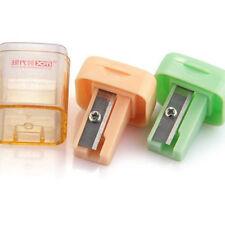 2PCS Portable Pencil Sharpener Manual Hand Home Office Desktop Stationery Kids