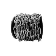 10 METRI Hank 2.5 x 24 x 5mm nero saldati collegamenti catena per appendere RECINZIONE HEAVY DUTY