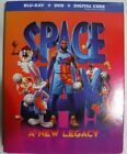 Space Jam A New Legacy (2021, Blu-ray + DVD + Digital + Slipcover, New & Sealed)