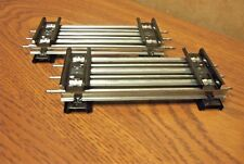 LIONEL TRAINS TRADITIONAL O GAUGE TUBULAR HALF STRAIGHT TRACK 4 PIECES