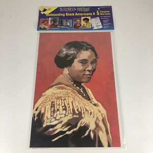 Black History African American Bulletin Board Poster Education Set Hughes Walker