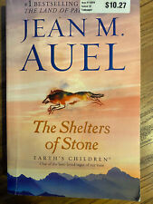 The Shelters of Stone: Earth's Children, Book Five [ Auel, Jean M. ] Used -