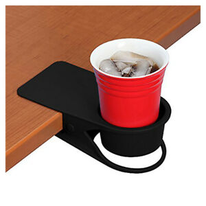 Drinking Cup Holder Clip Home Office Table Desk Side Huge Clip Water P6T3