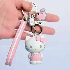 NEW HELLO KITTY KEYCHAIN Cute Cartoon Key Ring Purse Charm Party Favors
