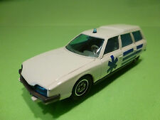SOLIDO 1365 CITROEN CX 2400 BREAK - AMBULANCE - 1:43 - VERY GOOD CONDITION