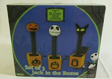 Neca Nightmare Before Christmas Jack in the Box Set of 3 non functional