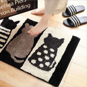 Fashion Cat Indoor Outdoor Door Entrance Anti Slip Floor Door Mat Rug Carpet New