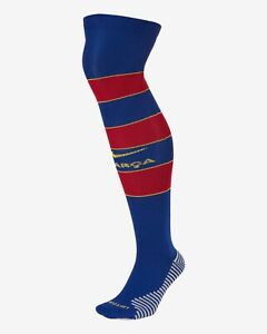Nike Over-the-Calf Football Socks F.C. Barcelona 2020/21 Stadium Home.  L 8-12