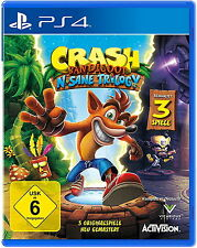 Crash Bandicoot N.Sane Trilogy (Sony PlayStation 4, 2017)