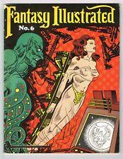 FANTASY ILLUSTRATED #6 - 1966 comics fanzine, Harvey Kurtzman, Bernard Krigstein