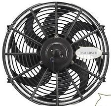 14 INCH 12V BLACK ELECTRIC COOLING FAN PERFORMANCE THERMO FAN 12VOLT
