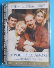 dvd la voce dell'amore one true thing william hurt meryl streep renee zellweger