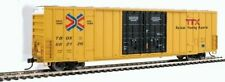 HO Walthers TTX TBOX 60' High Cube Plate F Boxcars 662126 and 661201