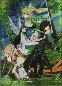 SWORD ART ONLINE, Asuna, Kirito, CLEAR FILE, New! (B) Anime, Manga
